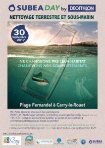 Participez au Nettoyage de la Plage Fernandel