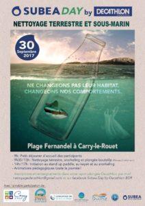 Participez au Nettoyage de la Plage Fernandel à Carry Le Rouet