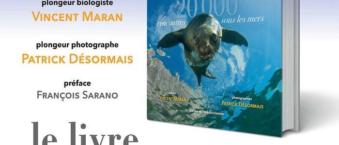 """""""20 000 rencontres sous les mers"""", un livre au bénéfice de DORIS et LONGITUDE 181"""