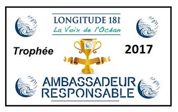 ULTRAMARINA reçoit le trophée 2017 du voyagiste écoresponsable !