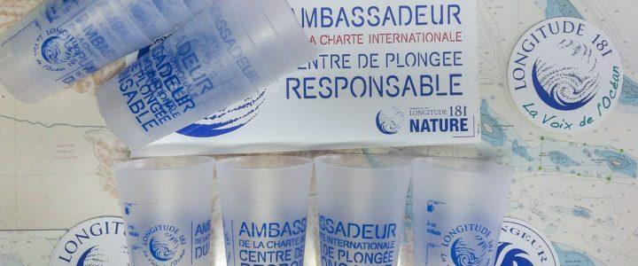 """Babou Côté Océan : des """" ECO """" Cups LONGITUDE 181"""