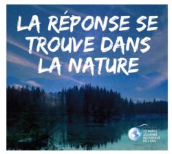 Journée mondiale de l'eau 2018: la réponse est dans la nature