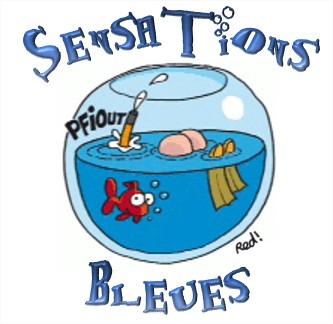 Sensations bleues logo