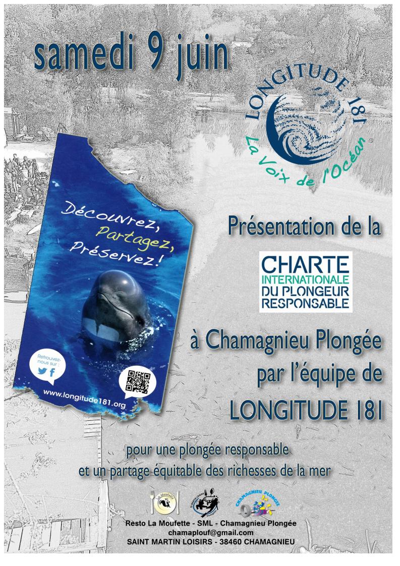 Chamagnieu Plongée accueille l'antenne AURA L181 le 9 Juin