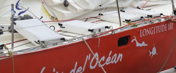 """Des nouvelles d'Eric JAIL et du bateau """"La Voix de l'Océan"""""""