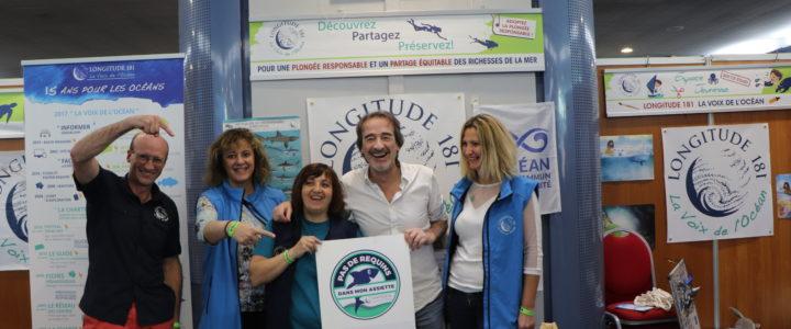 Fred de l'esprit Sorcier, nouveau Parrain de L181 et soutien de la campagne Pas de Requins Dans Mon Assiette !