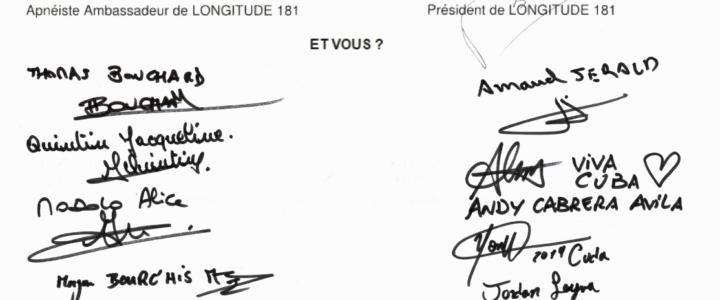 La consécration de la charte de l'apnéiste responsable aux  championnats du monde d'apnée AIDA !