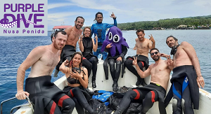 Purple Dive Penida