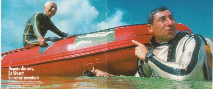 Plongée…dans les archives ! …retour sur le FIGARO MAGAZINE du Samedi 25 Mars 1995 :
