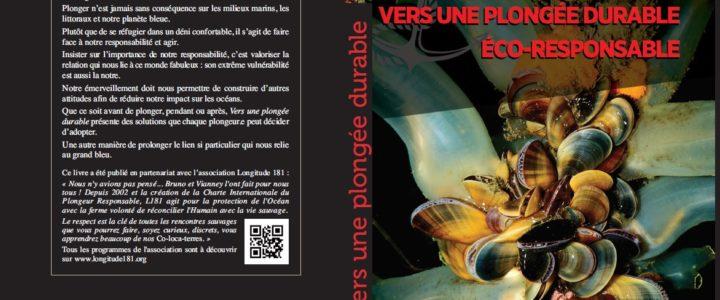 """Parution du livre """"Vers une plongée durable éco-responsable"""""""