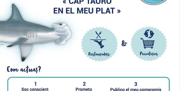 Pas de requin dans mon assiette : le dépliant en Catalan !